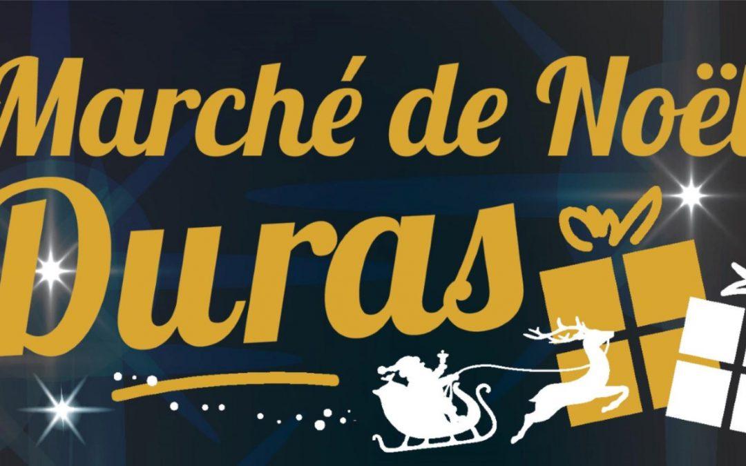 Affiche et programme du Marché de Noël