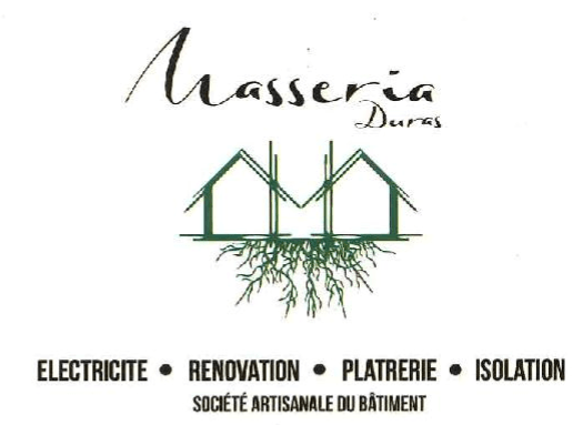 Masseria logo + text